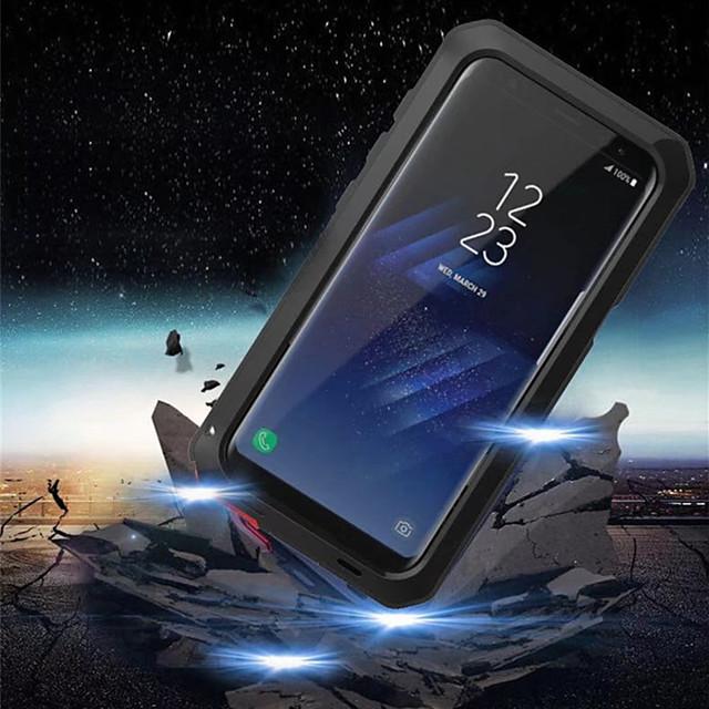 telefono Custodia Per Samsung Galaxy Integrale S9 S9 Plus S8 Plus S8 Bordo S7 S7 S6 edge plus Resistente agli urti Resistente all'acqua Armatura Armatura Resistente Metallo