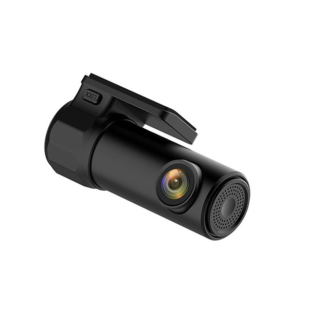 S600 HD 1280 x 720 / 1080p Vision nocturne DVR de voiture 170 Degrés Grand angle Aucun écran (sortie par APP) Dash Cam avec Vision nocturne / Mode Parking / Détection de Mouvement Non Enregistreur de