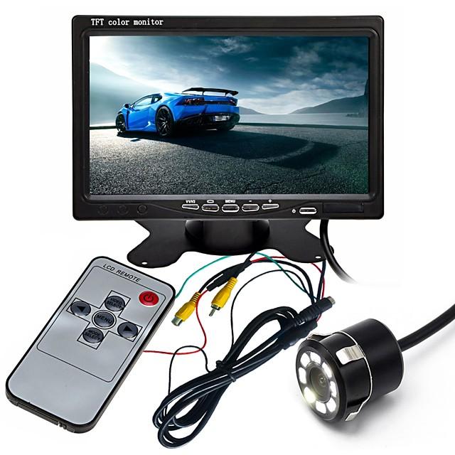 Ziqiao 7-Zoll-hd tft LCD-Fahrzeug Rückfahrkamera Monitor mit Luftfahrt-Stecker-Video-Kabel