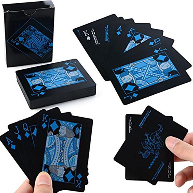 Accessoire de Magie Jeu de cartes Tours de magie Professionnel Ultra léger (UL) Homme Unisexe Garçon Cadeau 1 pcs Noir