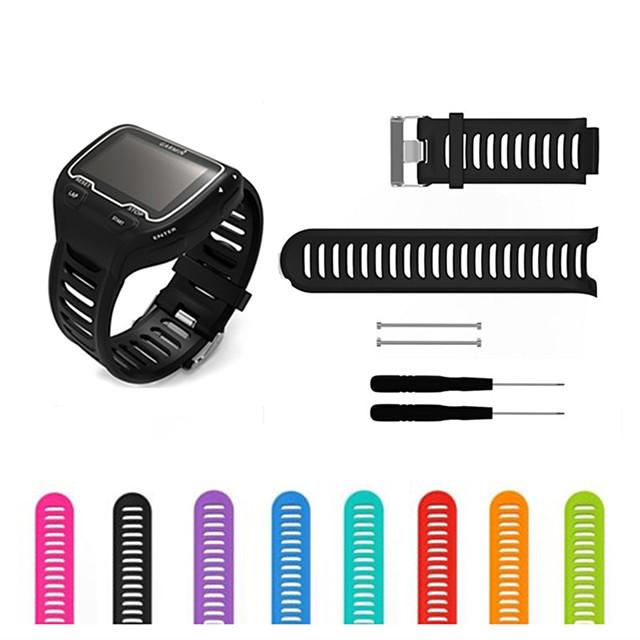 Bracelet de Montre  pour Forerunner 910XT Garmin Bracelet Sport Silikon Sangle de Poignet