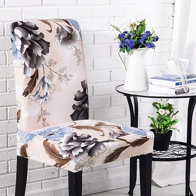 Housse de chaise Multicolore Imprimé Polyester Literie