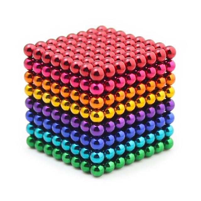 512 pcs 5mm Jouets Aimantés Boules Magnétiques Blocs de Construction Aimants de terres rares super puissants Aimant Néodyme Cube casse-tête Jouets Aimantés Magnétique Soulagement de stress et