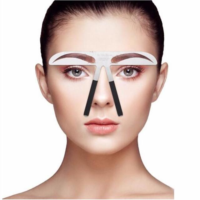 Pochoir à Sourcils Niveau professionnel Maquillage 1 pcs Acier inoxydable Sourcil / Visage Portable / Universel Cosmétique Accessoires de Toilettage