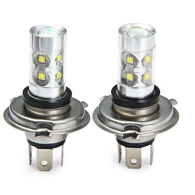 SENCART Moto / Automatique LED Feu Antibrouillard H4 Ampoules électriques 3100 lm LED SMD 50 W 10 Pour Universel Toutes les Années 2pcs