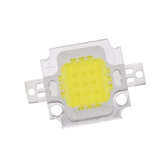 zdm 10w высокая мощность встроенная светодиодная естественная белая / золотая проволочная сварка медного кронштейна (dc9-12v 900ua)