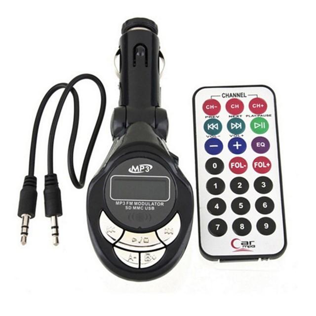 XCL-007 Odtwarzacz MP3 Zwyczajny Samochodowy modulator FM MP3 Univerzál