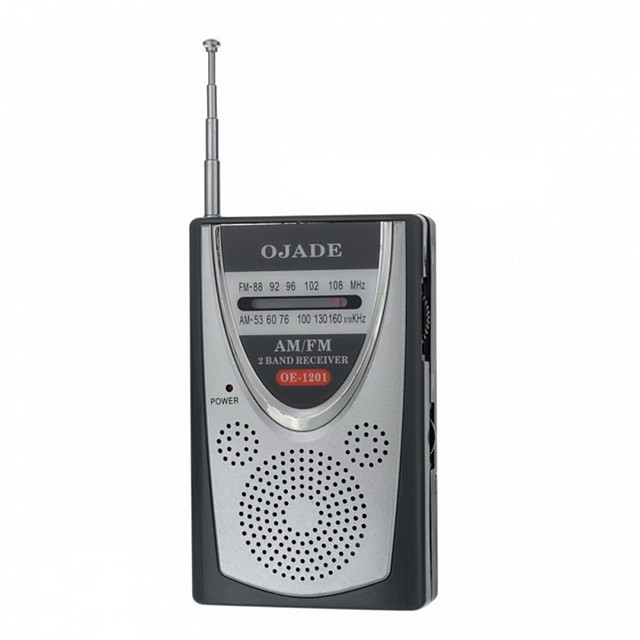 OJADE OE-1201 Mini portabil AM / FM 2-Band Radio