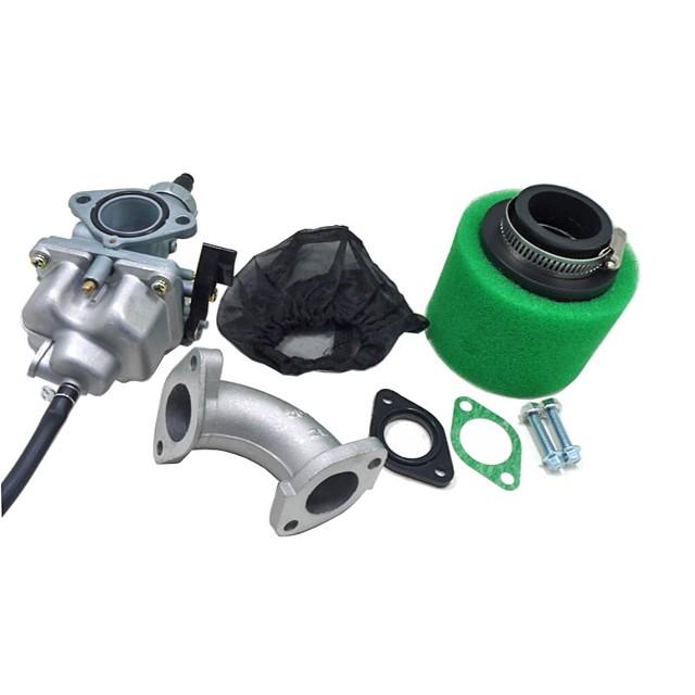 Cg125 كارب المكربن 38 ملليمتر فلتر الهواء غطاء المنوع مدخل مجموعة ل 110cc 125cc الترابية حفرة دراجة atv