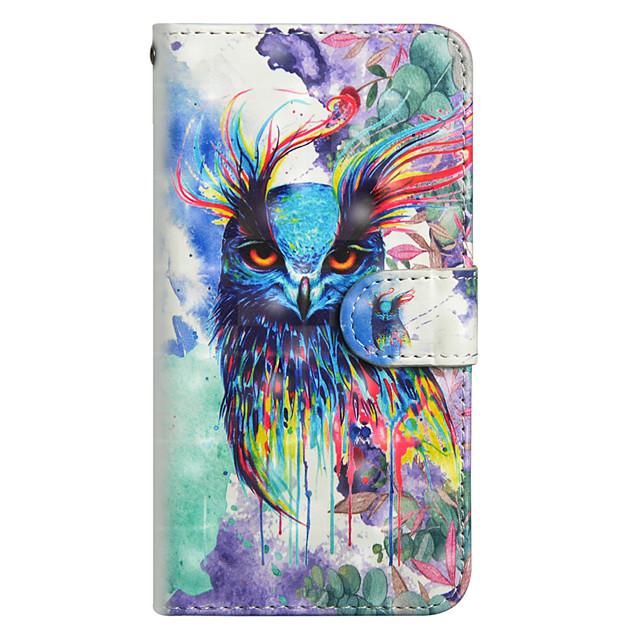 غطاء من أجل Samsung Galaxy J7 (2017) / J6 / J5 (2017) محفظة / حامل البطاقات / مع حامل غطاء كامل للجسم بوم قاسي جلد PU