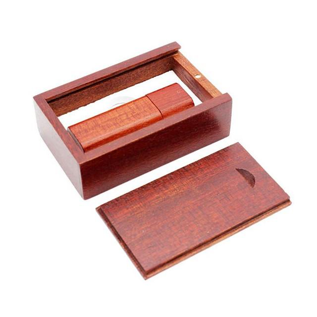 Ants 64Go clé USB disque usb USB 2.0 / Micro USB En bois Rectangulaire Couvres