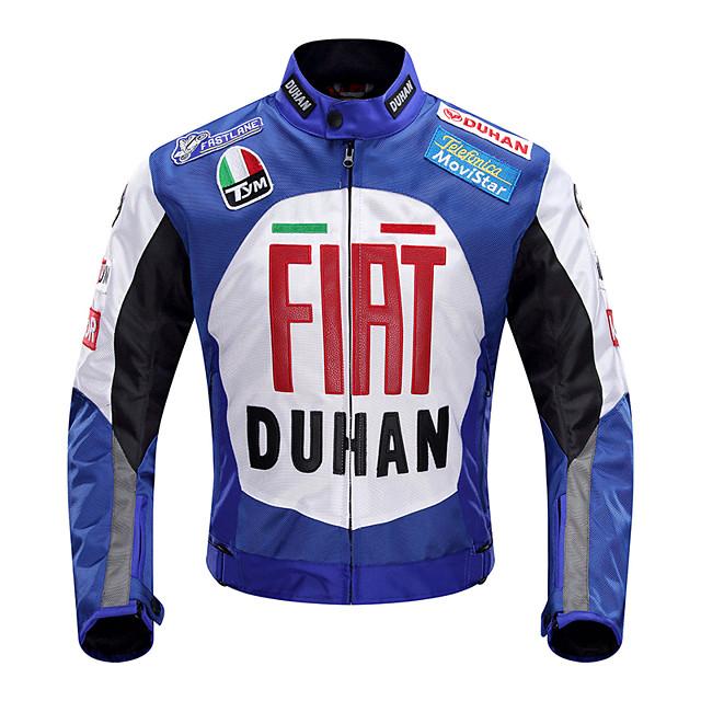 DUHAN D-082x ملابس نارية Jacketforالرجال قماش اكسفورد كل الفصول مقاومة للخدش / ضد الصدمات / متنفس