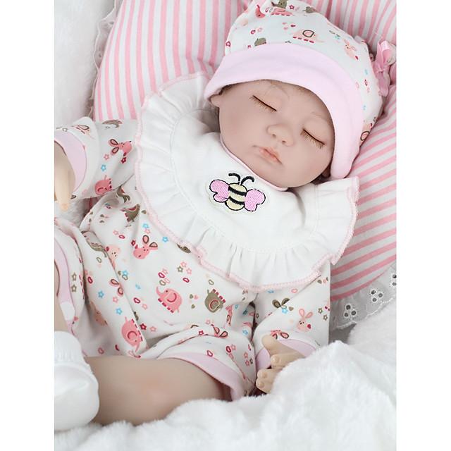 NPKCOLLECTION 18 pouce NPK DOLL Poupées Reborn Fille Poupée Bébés Fille Nouveau née réaliste Economique cadeaux noël enfant avec vêtements et accessoires pour les cadeaux d'anniversaire et de