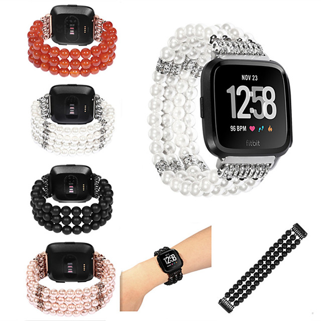 Uhrenarmband für Fitbit Versa Fitbit Sport Band Nylon Handschlaufe