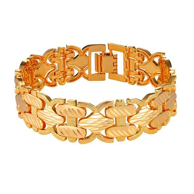Chaînes Bracelets Homme Corde Mode Bracelet Bijoux Dorée Argent pour Cadeau Quotidien