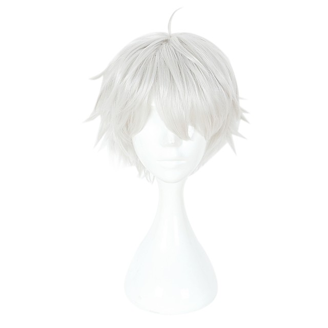 Tokyo Ghoul Ken Kaneki Cosplay Parrucche Cosplay Unisex 14 pollice Tessuno resistente a calore Parrucca Anime / Other / Other