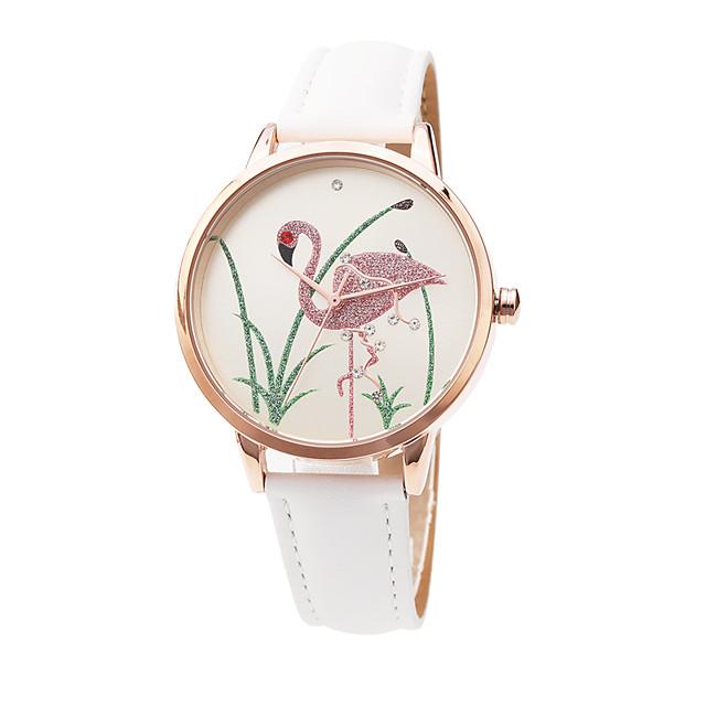نسائي ساعة المعصم كوارتز ياباني سيدات مقاوم للماء مماثل ذهبي روزي / أبيض / سنة واحدة / جلد اصطناعي / تقليد الماس / سنة واحدة / Sony SR626SW