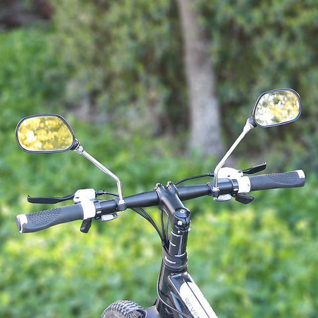 Handlebar Motorcycle Mountain Bike Bicycle Side Rear View Rearview Mirror Q*