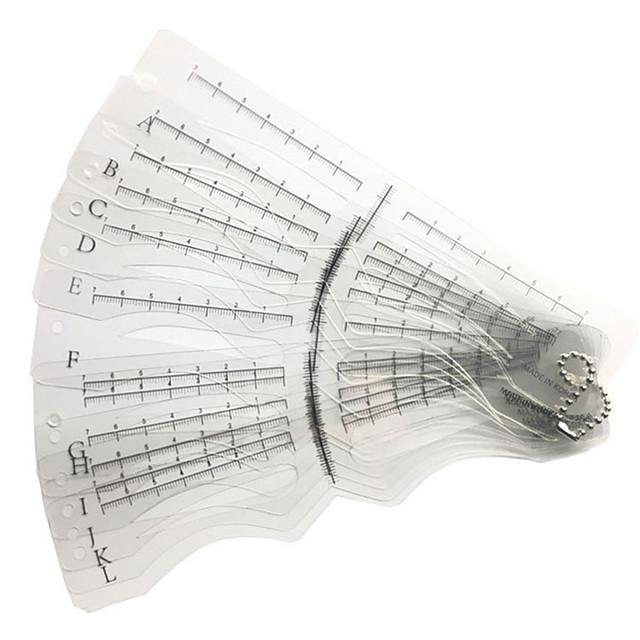 مجموعة ماكياج قلم الحواجب المستوى المهني / محمول ميك أب 12 pcs العين / وجه المحمول تجميلي أدوات الحلاقة