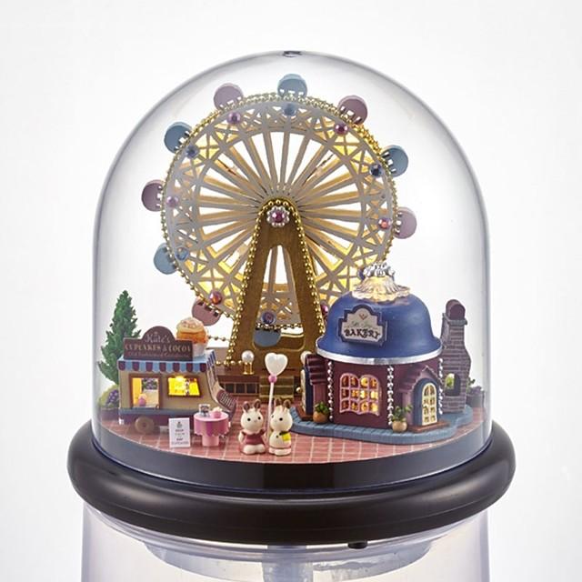Maison de Poupées Romance Grande roue Créatif avec LED Unique Cristal Verre Femme Fille Enfant Adultes 1 pcs Cadeaux de fin d'études Jouet Cadeau