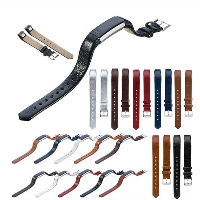 حزام إلى Fitbit Alta HR / Fitbit Alta فيتبيت عصابة الرياضة جلد طبيعي شريط المعصم
