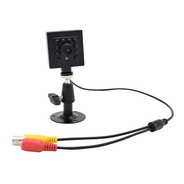 hqcam 800tvl cmos 0.03lux 10pcs 940nm ir led sécurité intérieure mini ir 1/3 pouce cmos ir caméra / boîte caméra