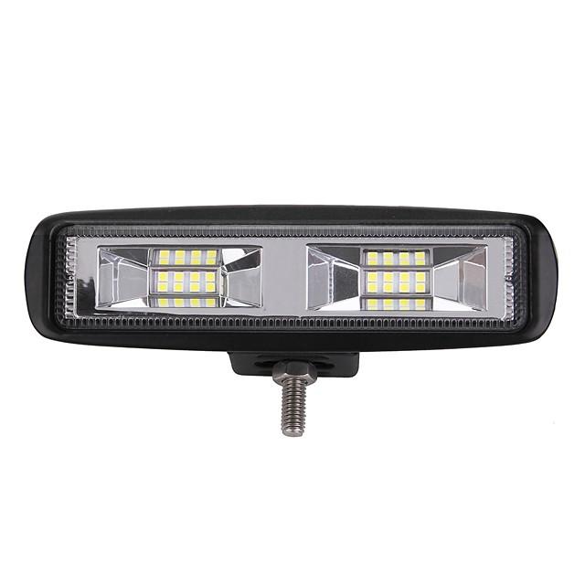 1 قطعة سيارة لمبات الضوء 204 W Integrated LED 2400 lm 16 LED أضواء الخارج For عالمي 2018