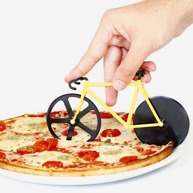 Aço Inoxidável + Plástico ABS Fatiador Início ferramenta da cozinha Utensílios De Cozinha Ferramentas Pizza 1pç