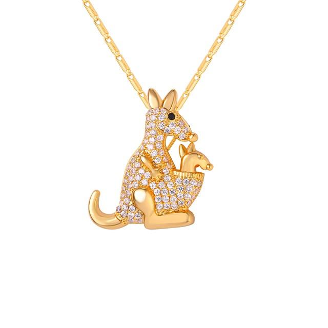 نسائي قلائد الحلي طويل حيوان سيدات موضة نحاس ذهبي فضي 55 cm قلادة مجوهرات 1PC من أجل هدية مناسب للبس اليومي