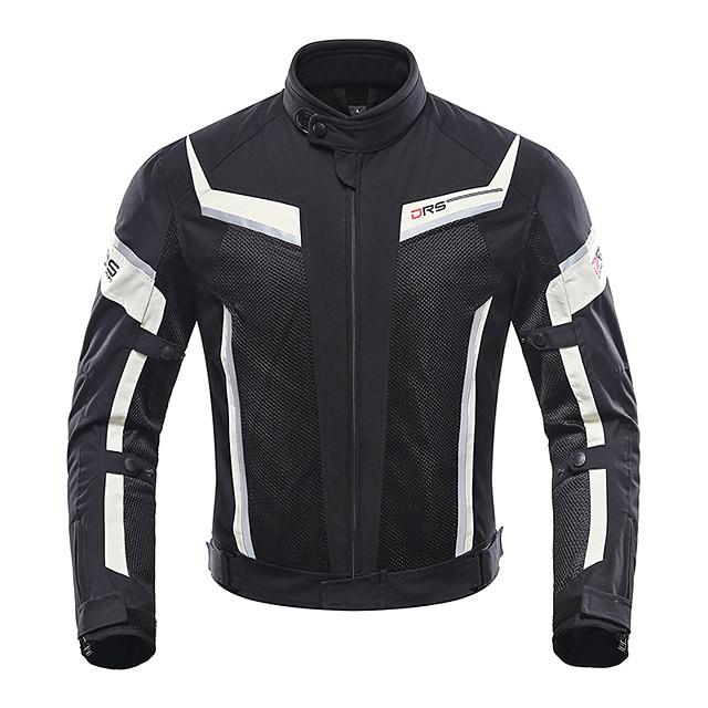 DUHAN 185 ملابس نارية Jacketforالرجال بوليستر صيف مقاومة للاهتراء / ضد الصدمات / متنفس