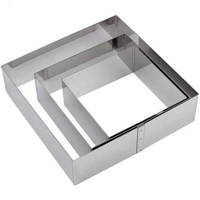 3 قطع أدوات الحلوى وصول قسط الفولاذ المقاوم للصدأ الاستخدام اليومي