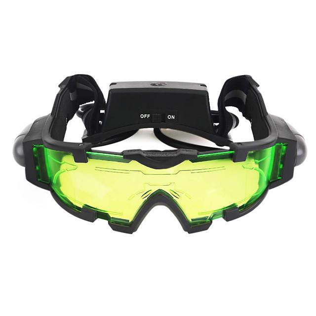 Night Vision Goggles Lentile Rezistent la apă Ajustabil LED Aburire Camping & Drumeții Vânătoare Tragere Plastic MetalPistol / Vedere nocturnă