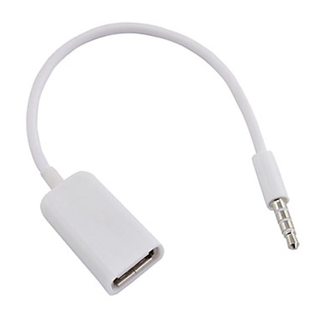 USB 3.0 - Jack audio da 3.5mm Maschio / femmina 0.1m (0.3Ft)