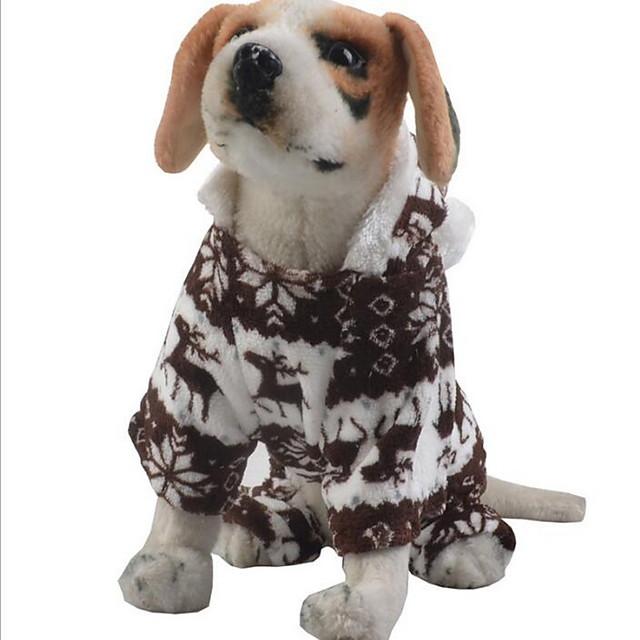 Chien Chat Combinaison-pantalon Vêtements pour chiots Britannique Animal Guêtres Noël Hiver Vêtements pour Chien Vêtements pour chiots Tenues De Chien Bleu Rose Gris Costume pour fille et garçon chien