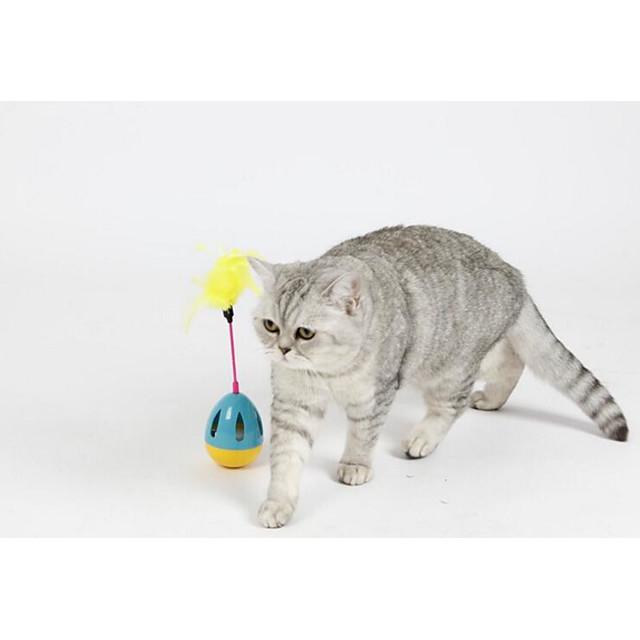 ألعاب الريش كلاب قطط 1 كأس ماء × 2 محبوب بلاستيك هدية حيوانات أليفة ألعاب