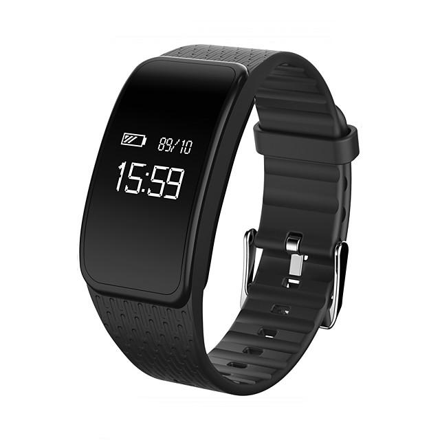 KUPENG A59 Unisex Inteligentne Bransoletka Bluetooth Wodoodporny Pomiar ciśnienia krwi Ekran dotykowy Spalonych kalorii Długi czas czuwania Krokomierz Powiadamianie o połączeniu telefonicznym