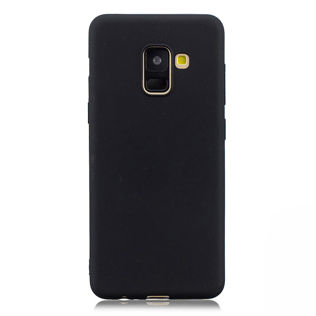 غطاء من أجل Samsung Galaxy A5(2018) / A3 (2017) / A5 (2017) نحيف جداً غطاء خلفي لون سادة ناعم TPU