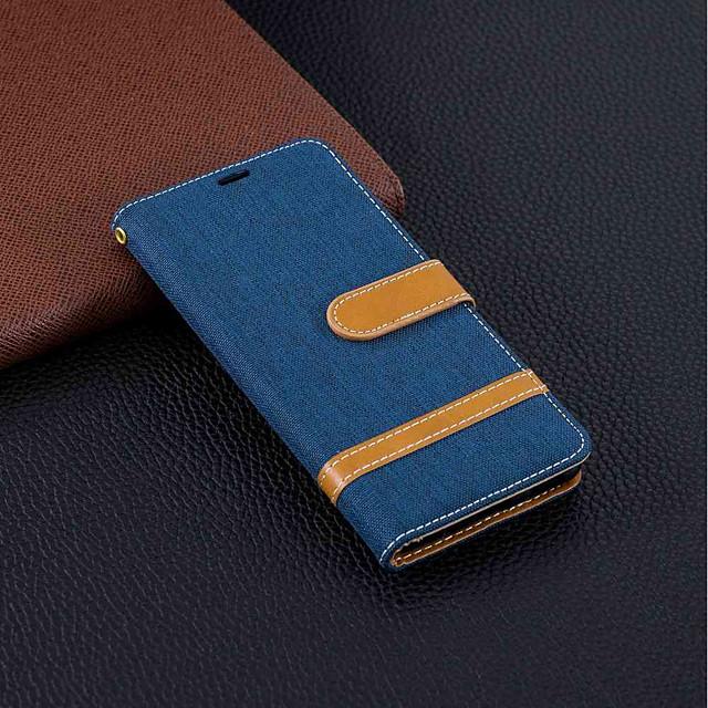 Θήκη Za Nokia Nokia 5.1 / Nokia 3.1 / Nokia 2.1 Novčanik / Utor za kartice / sa stalkom Korice Jednobojni Tvrdo Tekstil