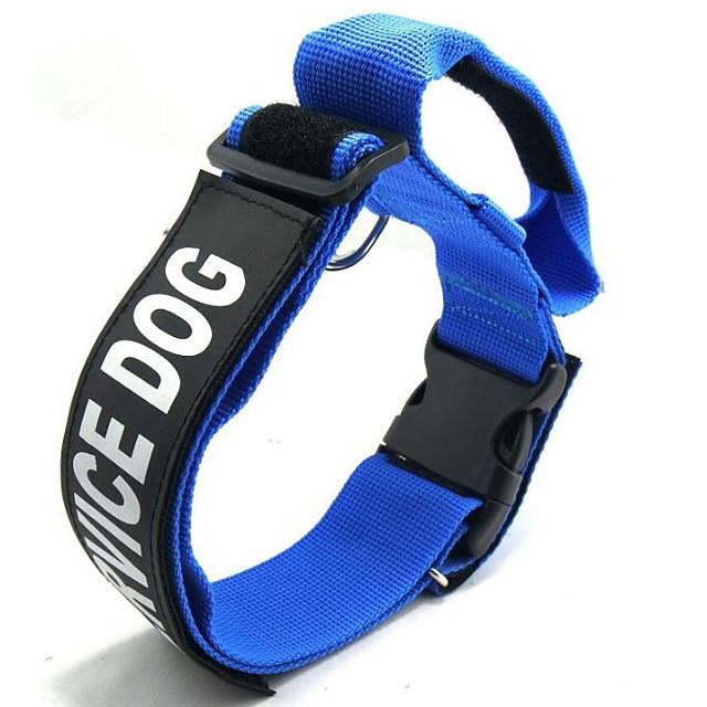 كلاب ياقة المحمول حجم قابل للتعديل قابلة للطي مقولات و أقوال نايلون أحمر أزرق أسود