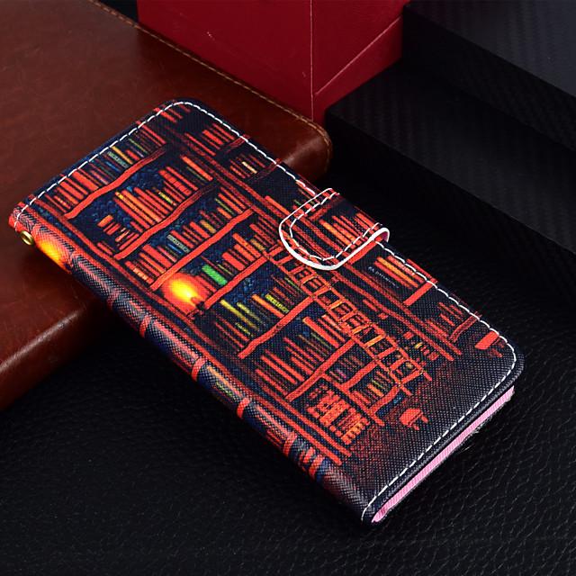 غطاء من أجل Samsung Galaxy J7 (2017) / J5 (2017) / J3 (2017) محفظة / حامل البطاقات / مع حامل غطاء كامل للجسم رسم زيتي قاسي جلد PU