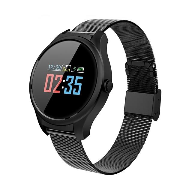 B35 الذكية ووتش الفولاذ المقاوم للصدأ بلوتوث اللياقة البدنية تعقب دعم الإخطار / رصد معدل ضربات القلب الرياضية smartwatch متوافق مع الهواتف فون / سامسونج / الروبوت