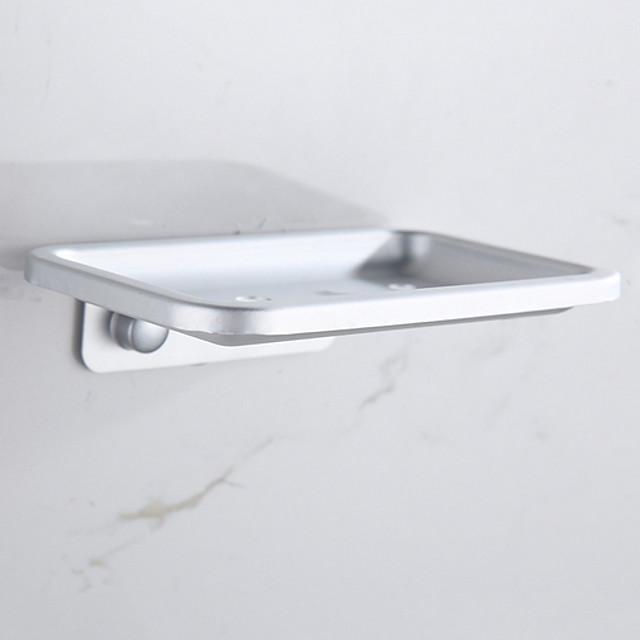 أطباق صابون وحوامل تصميم ممتاز / ألومنيوم حديث 1PC مثبت على الحائط