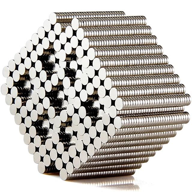 Blocs Magnétiques Bâtons Magnétiques Carreaux magnétiques Briques de construction 500 pcs Col bombé Autocollant de Porte Jouets de construction Tous Garçon Fille Jouet Cadeau / Enfant