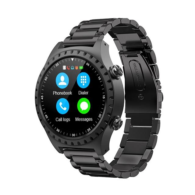 SMA M1S رجالي سمارت ووتش Android iOS بلوتوث ضد الماء شاشة لمس GPS رصد معدل ضربات القلب رياضات مؤقت المشي عداد الخطى تذكرة بالاتصال متتبع النشاط / رمادي داكن / إسبات الطويل / مكالمات بدون يد