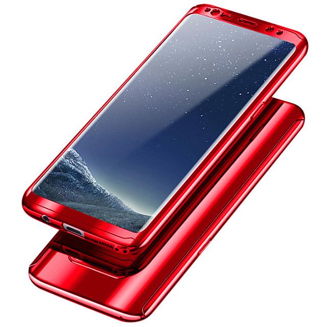 Кейс для Назначение SSamsung Galaxy S9 / S9 Plus / S8 Plus Защита от удара / Покрытие Чехол Однотонный Твердый ПК