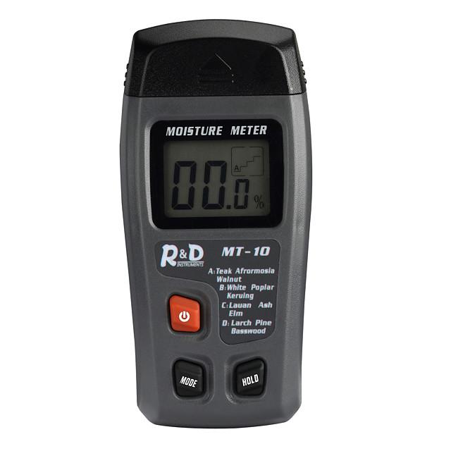 ص&د mt-10 الخشب الرقمية الرطوبة متر / اختبار
