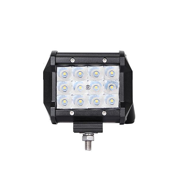 Lights Maker 1 قطعة كيبل الأتصال سيارة لمبات الضوء 36 W SMD 3030 12 LED ضوء الضباب من أجل دراجات نارية / عالمي جميع الموديلات كل السنوات