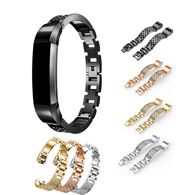 حزام إلى Fitbit Alta HR / Fitbit Alta فيتبيت عصابة الرياضة / تصميم المجوهرات ستانلس ستيل / خزفي شريط المعصم