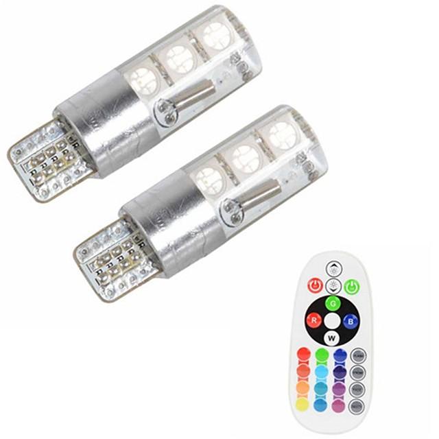 2pcs T10 سيارة لمبات الضوء 3 W SMD 5050 500 lm 6 LED ضوء إشارة اللف من أجل