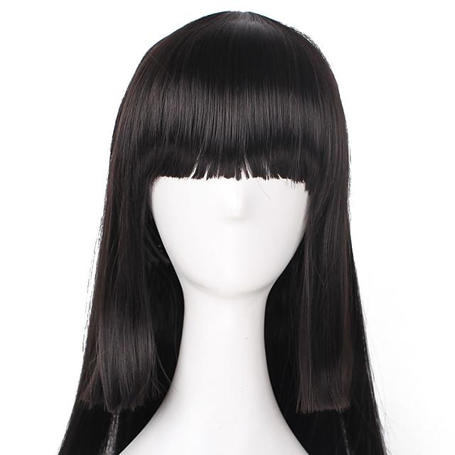 Kakegurui Jabami Yumeko Cosplay-parykker Dame 16 tommers Varmeresistent Fiber Voksen Anime Wig